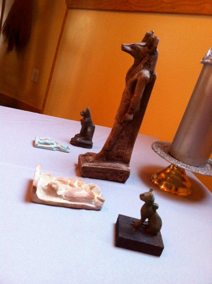 Egyptian objects